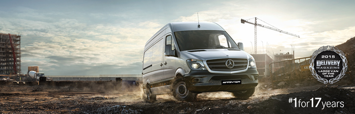 Sprinter wins 2015 Large Van of the Year.